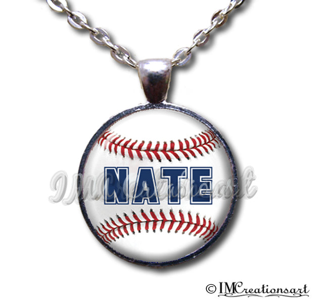 Personalized Name Baseball
