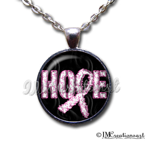 Hope Pink Ribbon Cancer Awareness