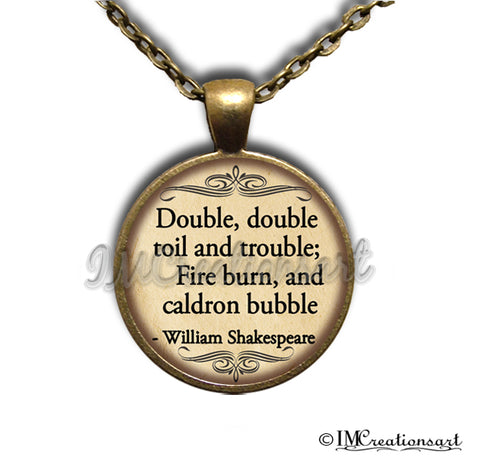 Shakespeare MacBeth Double Trouble