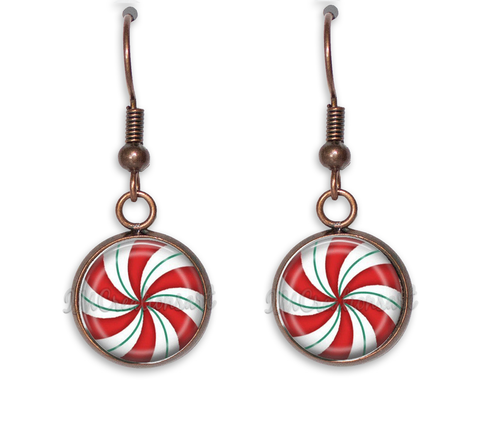 Christmas Peppermint Swirl Candy