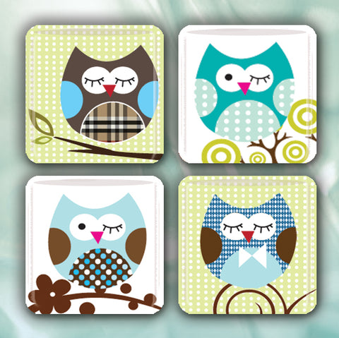 Whimsy Tree Owls
