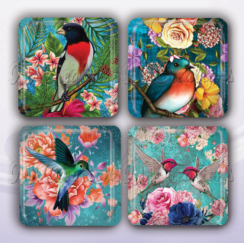 Tropical Floral Bird Lovers