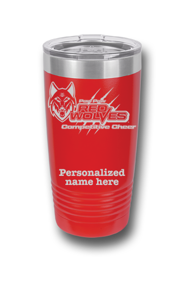 20 oz. Competitive Cheer Insulated Tumbler w/Lid