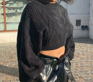 Kim Cropped Sweater