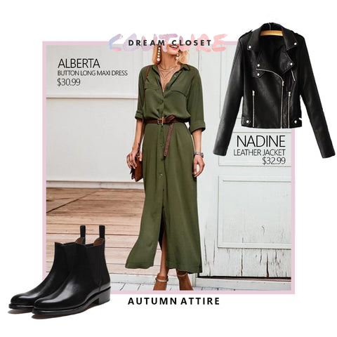 Maxi Dress Autumn Style
