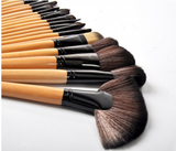 Roll Away Makeup Brush Set