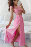 Angelica Pink Maxi Set
