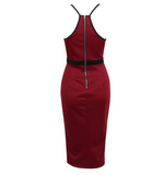 Nita Fitted Party Dress