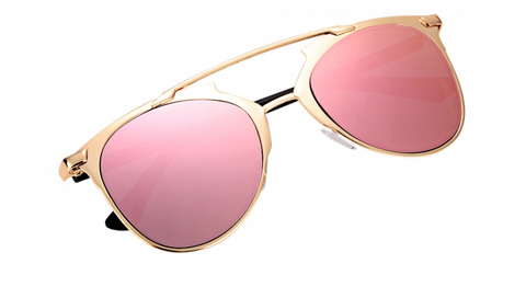 Pink Rose Sunglasses
