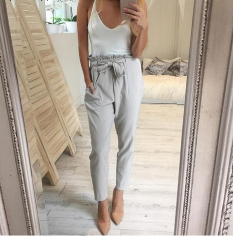 Grey Diane Trousers