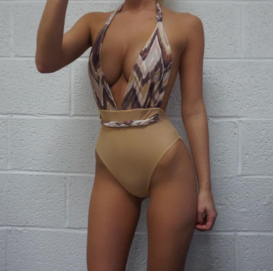 Love at First Beige Bodysuit