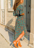 Boho Long Maxi Chiffon Holiday Dress