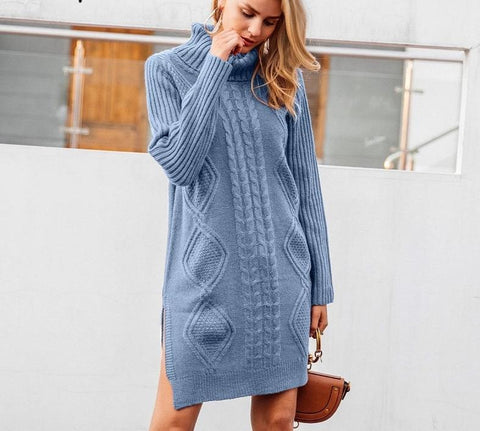 Jayce Turtleneck Sweater Dress