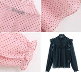 Dot Print Button Top