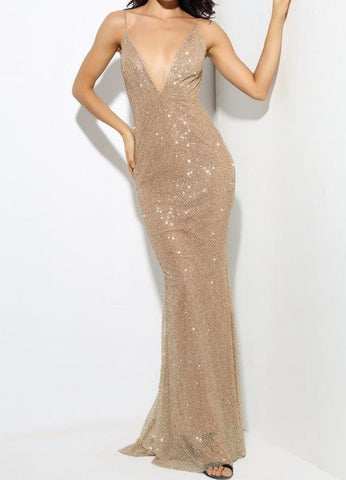 Shoshana Gold Luxury Gown