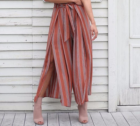 Ultimate Boho Split Flow Maxi Pants