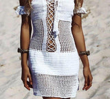 Aria See-Through Beach Dress