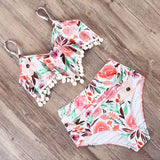 Portia High Waist Bikini Set