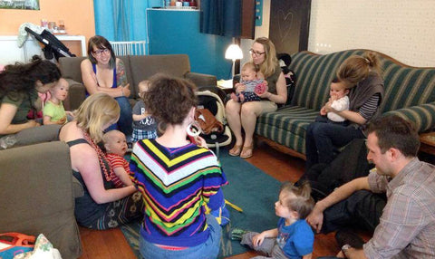 Sing from the Start in the Barefoot Babies Community Space