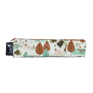 Nature Walk Wide Reusable Snack Bag by Colibri