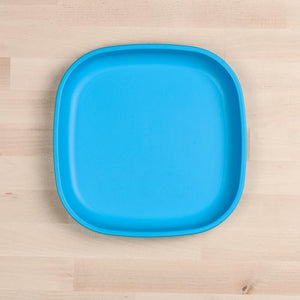 Sky Blue Re-Play Large Flat Plate