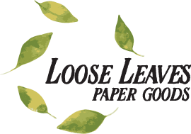 Loose Leaves Paper Goods - card