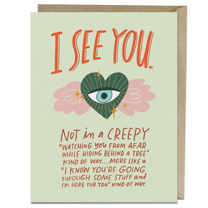 I See You - Emily McDowell greeting cards