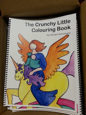 the CRUNCHY little Colouring Book - Deluxe Spiral Bound Edition!