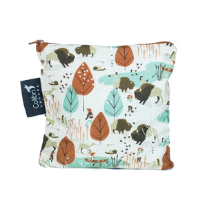 Nature Walk Large Reusable Snack Bag by Colibri