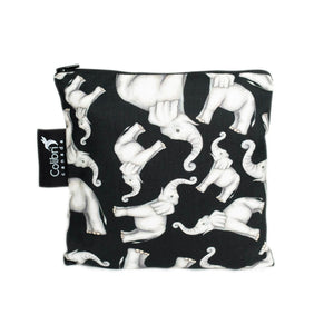 Elephant Large Reusable Snack Bag by Colibri