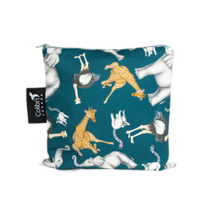Safari Large Reusable Snack Bag by Colibri