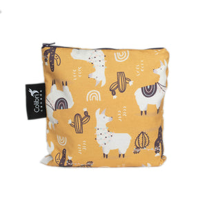 Llama Large Reusable Snack Bag by Colibri