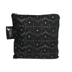 Midnight Flower Large Reusable Snack Bag by Colibri