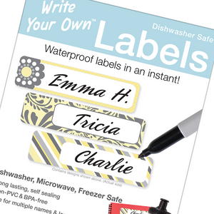 Write Your Own Blank Labels