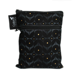 Midnight Flower Mini Double Duty Wetbag by Colibri