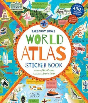 The Barefoot Books World Atlas Sticker Book