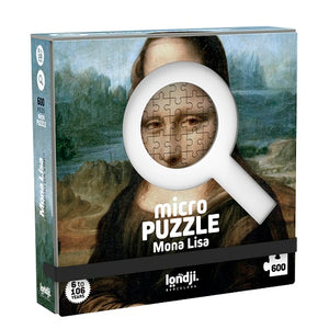 Mona Lisa by Leonardo Da Vinci Micropuzzle - 600 pieces