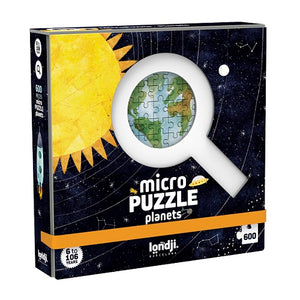 Discover the Planets Micropuzzle - 600 pieces