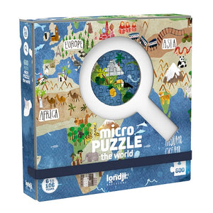 Discover the World Micropuzzle - 600 pieces