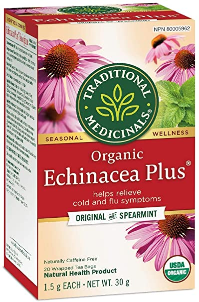 Traditional Medicinals Echinacea Plus - Original with Spearmint