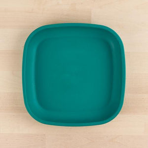 Teal Re-Play Flat Plate