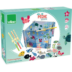 Magnetic Wooden Fishing Game by Vilac