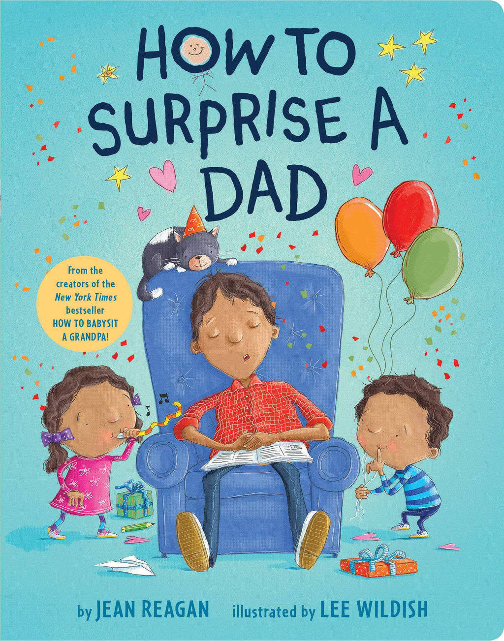 How to Surprise a Dad - Board Book
