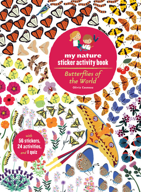 My Nature Sticker Activity Book: Butterflies of the World
