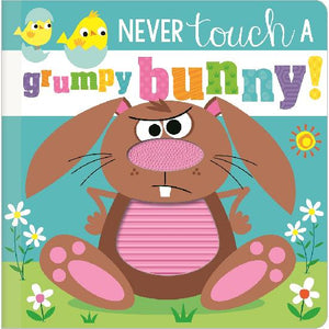 Never Touch a Grumpy Bunny