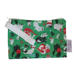 Santa Paws Mini Zip Wetbag