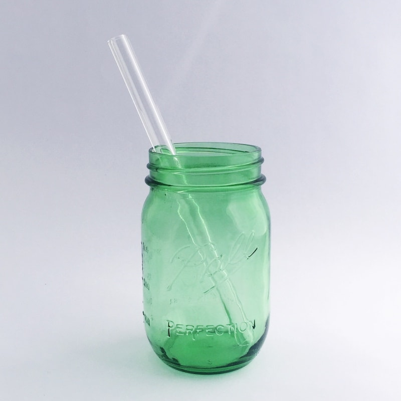 Strawsome Glass Smoothie Straw - Straight