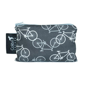 Bikes Small Reusable Snack Bag by Colibri