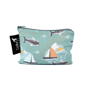 Narwhal Small Reusable Snack Bag by Colibri