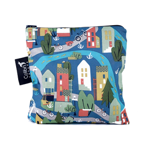 Urban Cycle Large Reusable Snack Bag by Colibri